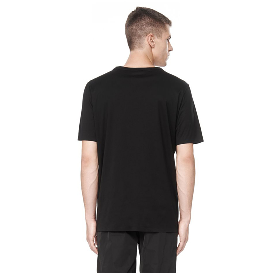 BLACK ALEXANDER WANG BARCODE LOGO WELDED TEE Outlet Online