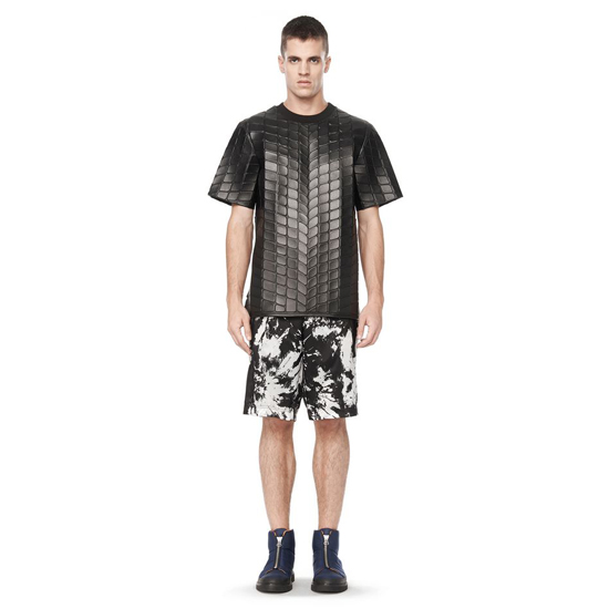 STEEL GRAY ALEXANDER WANG TYE DIE CARGO SHORTS Outlet Online