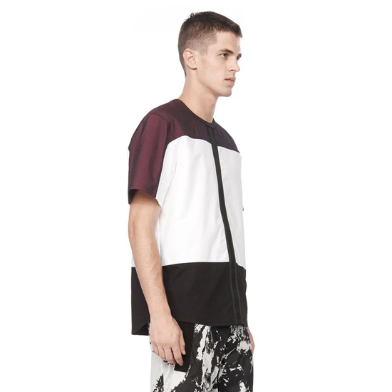 WHITE ALEXANDER WANG NYLON COMBO SHIRT Outlet Online