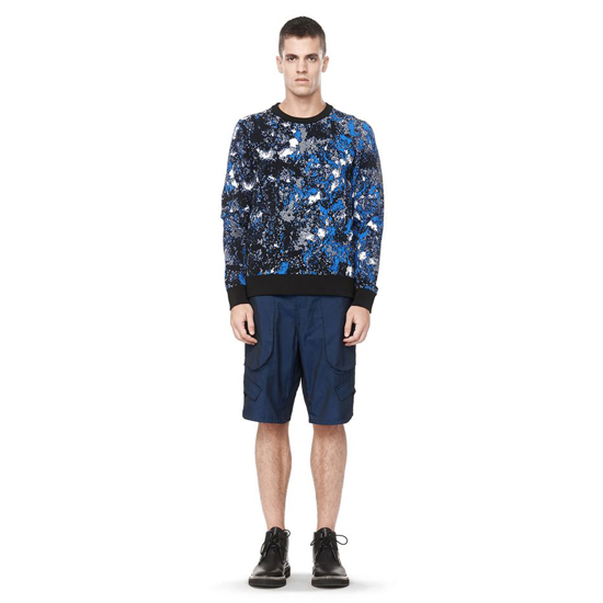 CHINA BLUE ALEXANDER WANG TIE DYE SWEATER Outlet Online