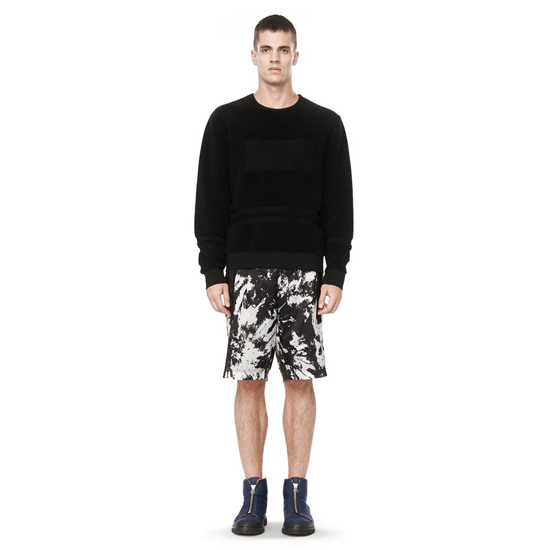 BLACK ALEXANDER WANG TOWEL STRIPE SWEATER Outlet Online