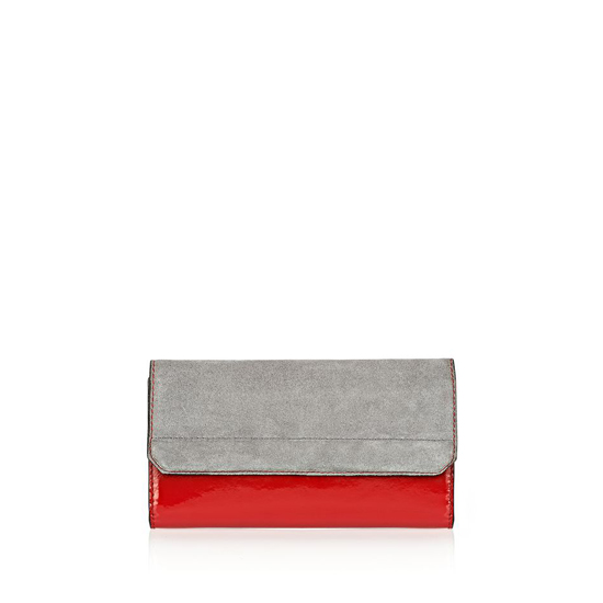 MULTICOLORED ALEXANDER WANG CHASTITY CONTINENTAL WALLET IN PAVEMENT WITH RHODIUM Outlet Online