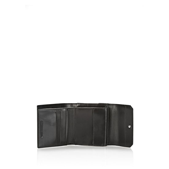 MULTICOLORED ALEXANDER WANG CHASTITY COMPACT WALLET IN PAVEMENT WITH RHODIUM Outlet Online