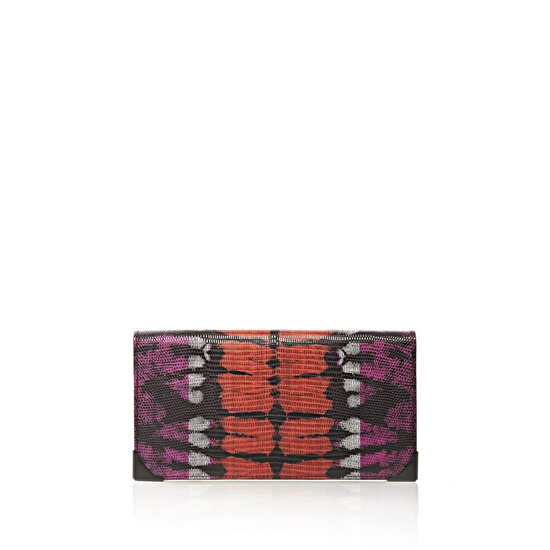 MULTICLR ALEXANDER WANG PRISMA SKELETAL LONG COMPACT IN TIE DYE BUBBA AND FLAME Outlet Online