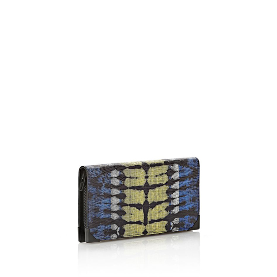 MULTICLR ALEXANDER WANG PRISMA SKELETAL LONG COMPACT IN TIE DYE PLASMA AND ACID WITH MATTE BLACK Outlet Online