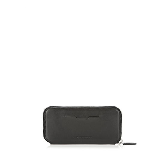 BLACK ALEXANDER WANG SURVIVAL CONTINENTAL WALLET IN BLACK WITH RHODIUM Outlet Online