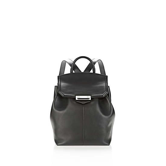 BLACK ALEXANDER WANG PRISMA BACKPACK IN BLACK WITH RHODIUM Outlet Online
