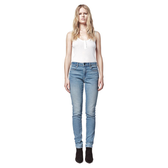 LIGHT BLUE ALEXANDER WANG WANG 001 SLIM FIT Outlet Online