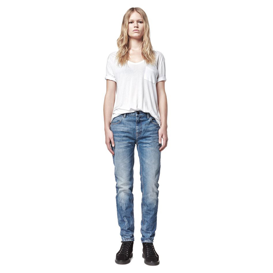 LIGHT BLUE ALEXANDER WANG WANG 002 RELAXED FIT Outlet Online