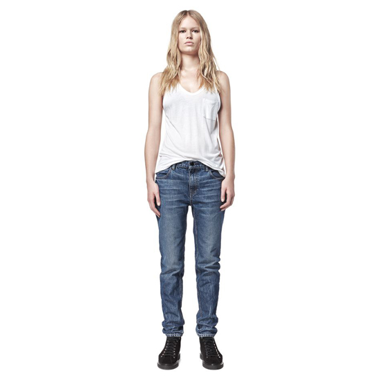 DARK BLUE ALEXANDER WANG WANG 002 RELAXED FIT Outlet Online
