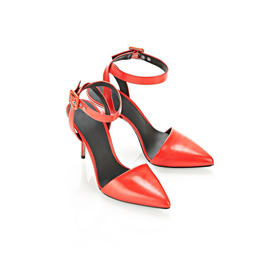 RED ALEXANDER WANG LOVISA PUMP Outlet Online