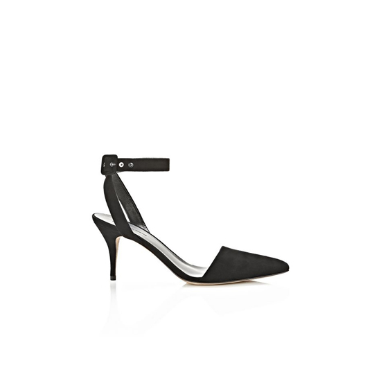 BLACK ALEXANDER WANG LUCA SUEDE PUMP Outlet Online
