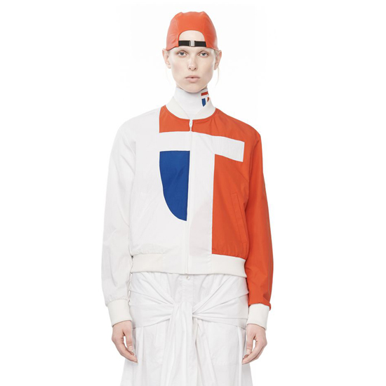 MULTICOLORED ALEXANDER WANG TECH LOGO TRACK JACKET Outlet Online