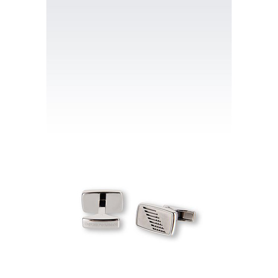 ARMANI STEEL CUFF LINKS Outlet Online