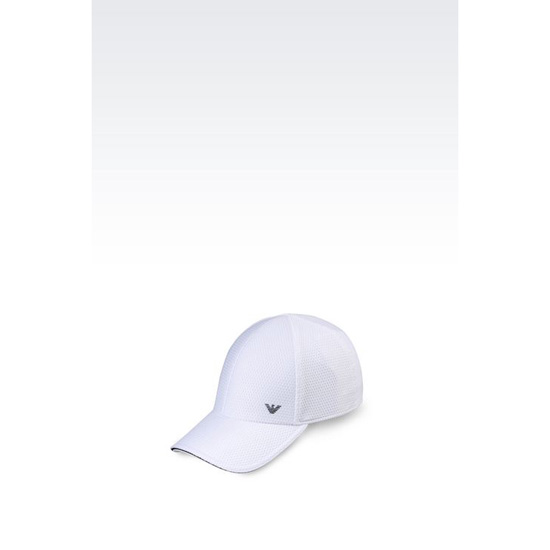 ARMANI BASEBALL CAP IN TECHNICAL FABRIC Outlet Online