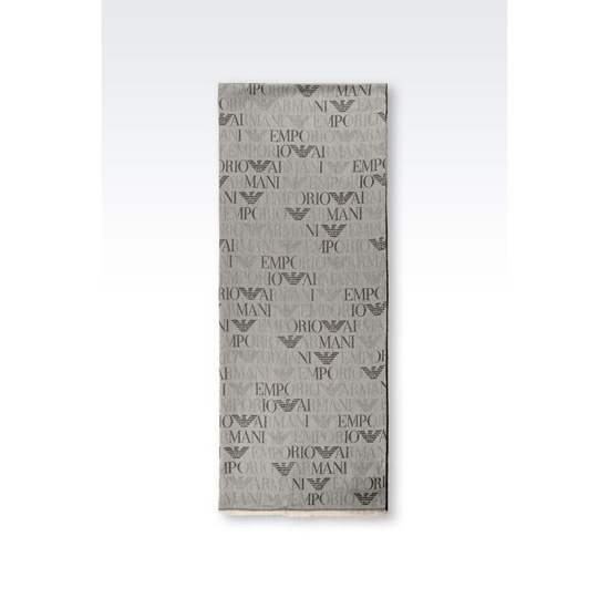 ARMANI WRAP IN LOGO PATTERNED VISCOSE MODAL Outlet Online