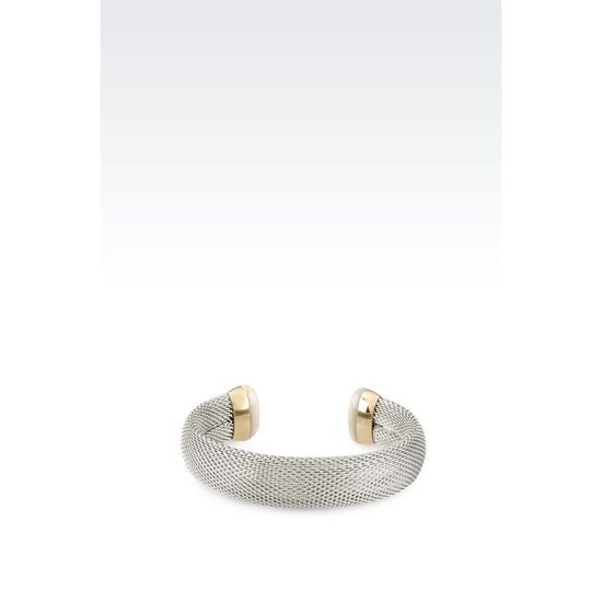 ARMANI BRACELET IN GOLD-PLATED STEEL AND MOTHER-OF-PEARL Outlet Online