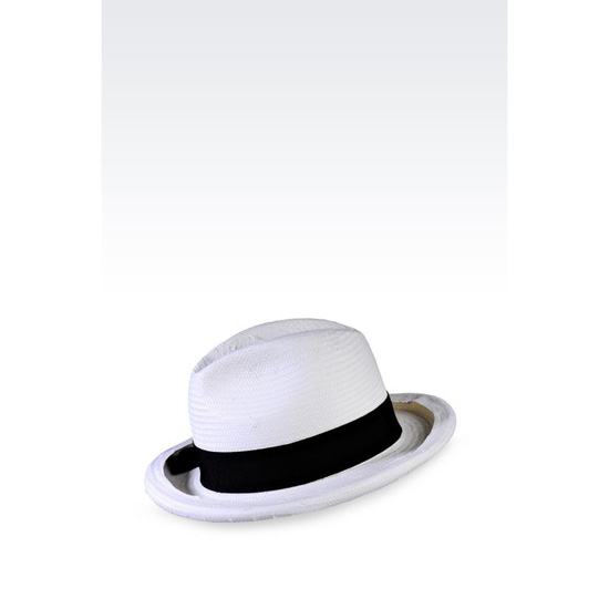 ARMANI CLASSIC TWO-COLOUR HAT Outlet Online