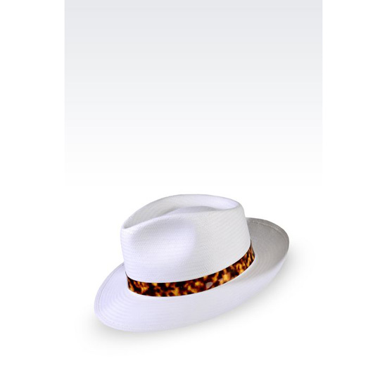 ARMANI CLASSIC NARROW-BRIMMED HAT Outlet Online