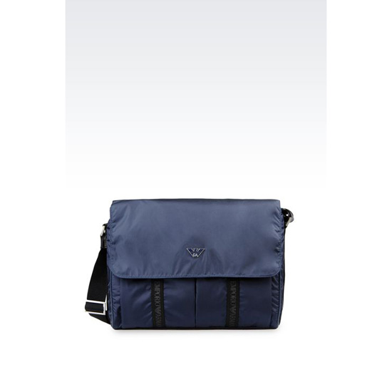 ARMANI MESSENGER BAG IN TECHNICAL FABRIC Outlet Online