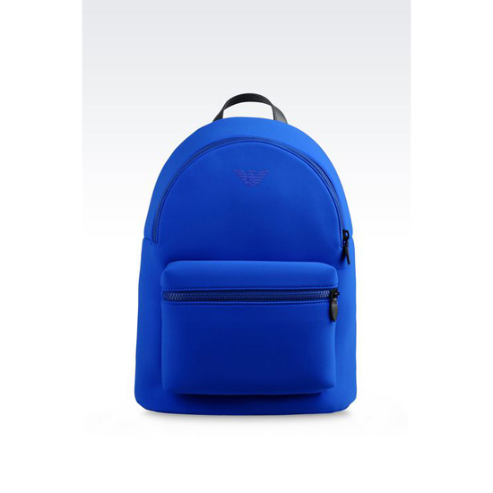 ARMANI RUNWAY BACKPACK IN NEOPRENE Outlet Online