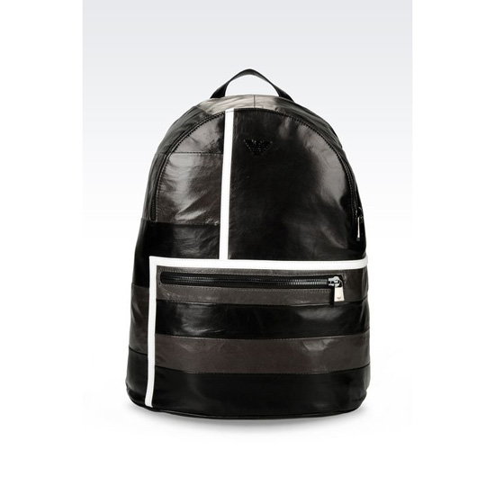 ARMANI LEATHER BACKPACK Outlet Online