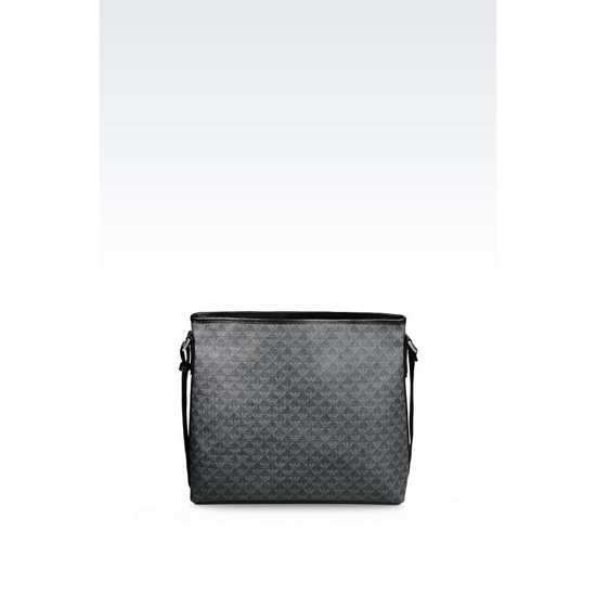 ARMANI SHOULDER BAG IN LOGOED PVC Outlet Online