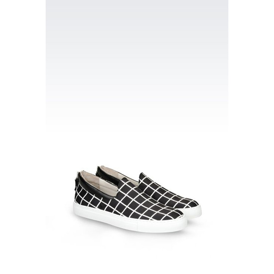 ARMANI SLIP-ON IN CALFSKIN Outlet Online