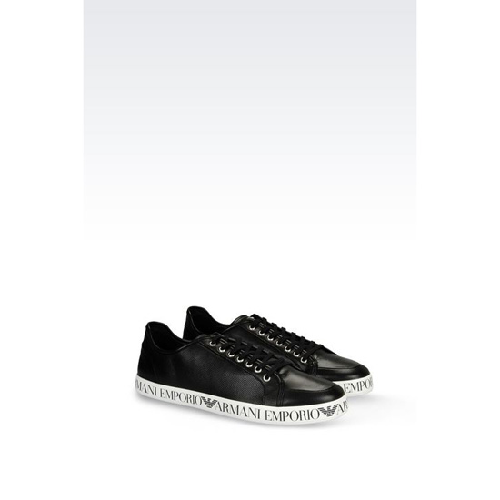 ARMANI SNEAKER IN NAPA LEATHER Outlet Online