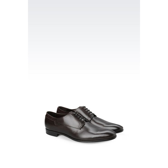 ARMANI CLASSIC DERBY IN CALFSKIN Outlet Online