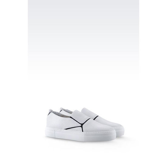 ARMANI RUNWAY SLIP-ON IN CALFSKIN Outlet Online