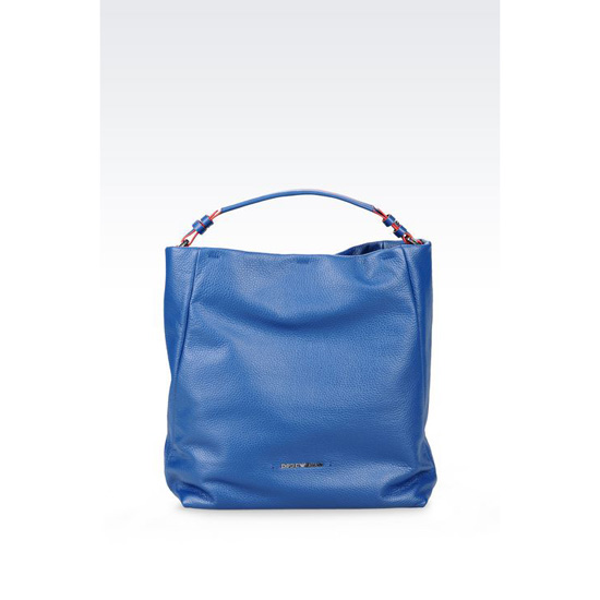 ARMANI HOBO BAG IN CALFSKIN Outlet Online