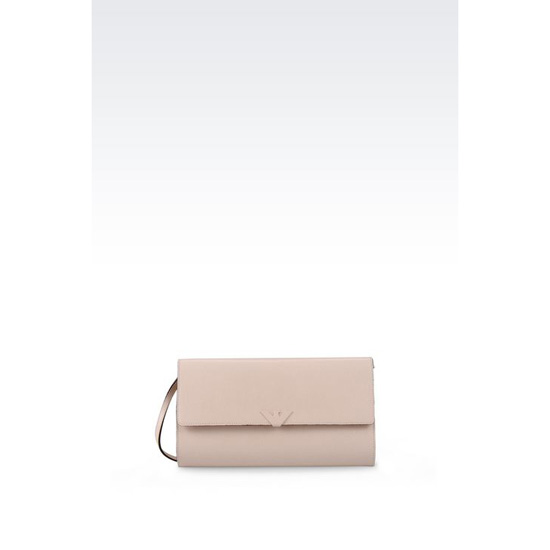 ARMANI CLUTCH IN SAFFIANO WITH CHAIN STRAP Outlet Online