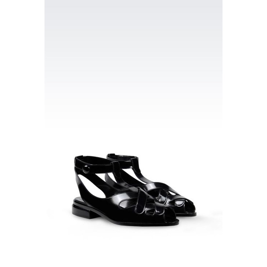 ARMANI LEATHER SANDAL Outlet Online