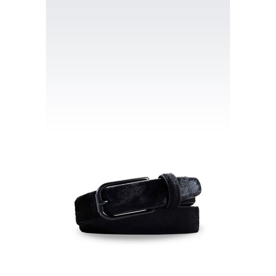 ARMANI BELT IN PONY SKIN PRINT CALFSKIN Outlet Online