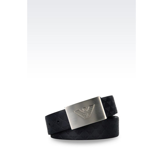 ARMANI REVERSIBLE CALFSKIN BELT Outlet Online