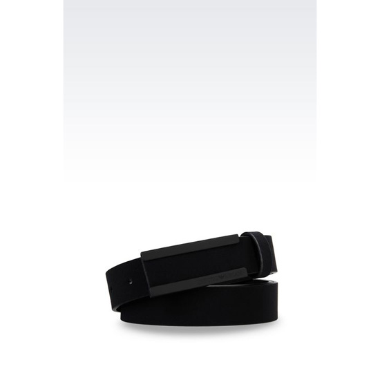 ARMANI NEOPRENE BELT Outlet Online