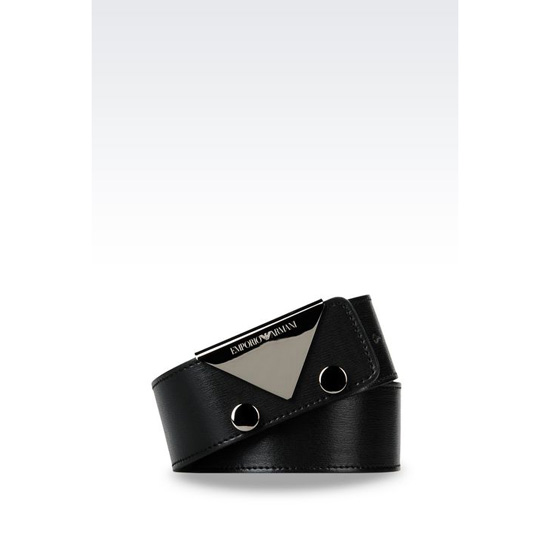 ARMANI BELT IN BOARDED CALFSKIN Outlet Online