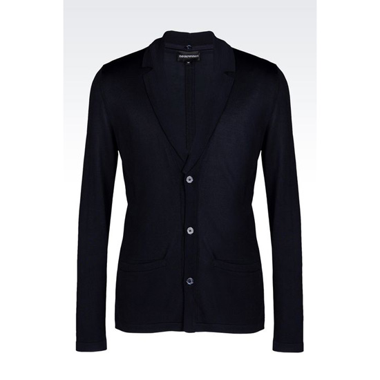 ARMANI JACKET IN VISCOSE BLEND WITH DETACHABLE LAPELS Outlet Online