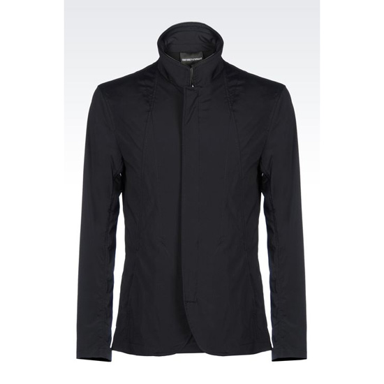 ARMANI CLASSIC BLOUSON IN STRETCH TECHNICAL FABRIC Outlet Online