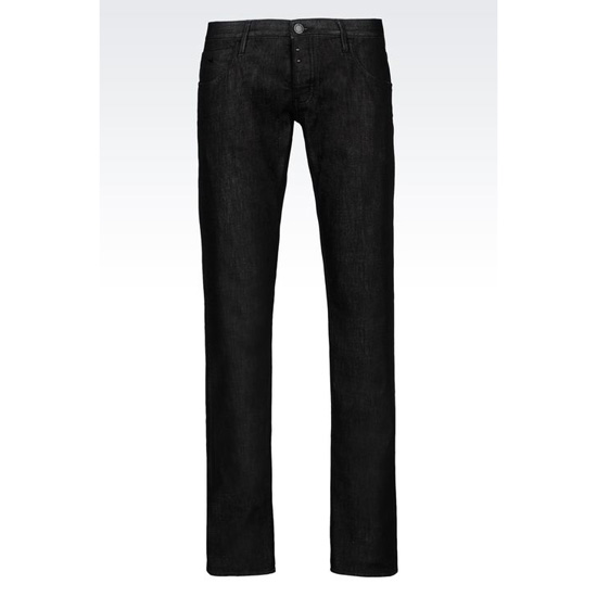 ARMANI SLIM FIT DARK WASH JEANS Outlet Online