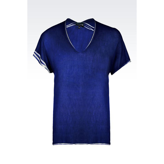 ARMANI RUNWAY T-SHIRT IN SILK Outlet Online