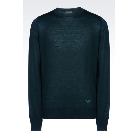 ARMANI SWEATER IN SHAVED WOOL Outlet Online