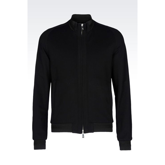 ARMANI BLOUSON IN VISCOSE BLEND JERSEY Outlet Online