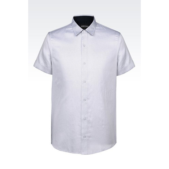 ARMANI SHIRT IN PRINTED COTTON Outlet Online