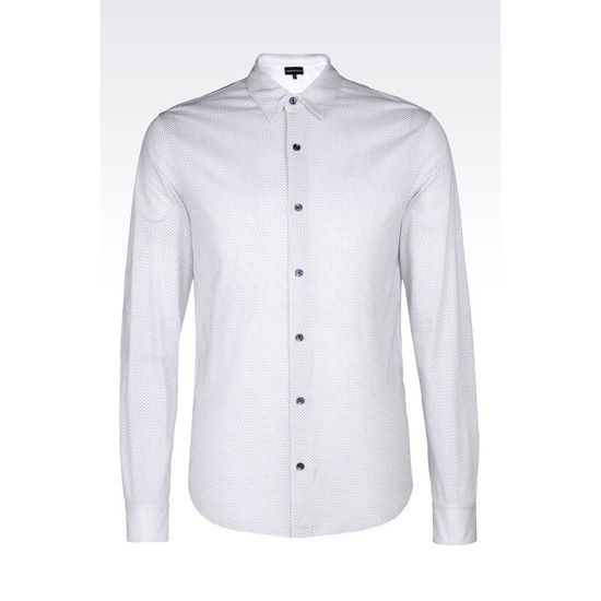 ARMANI SHIRT IN PRINTED JERSEY Outlet Online