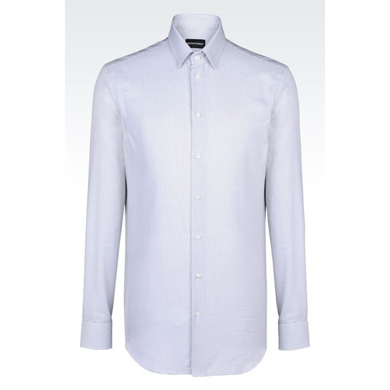 ARMANI SHIRT IN FANCY COTTON Outlet Online