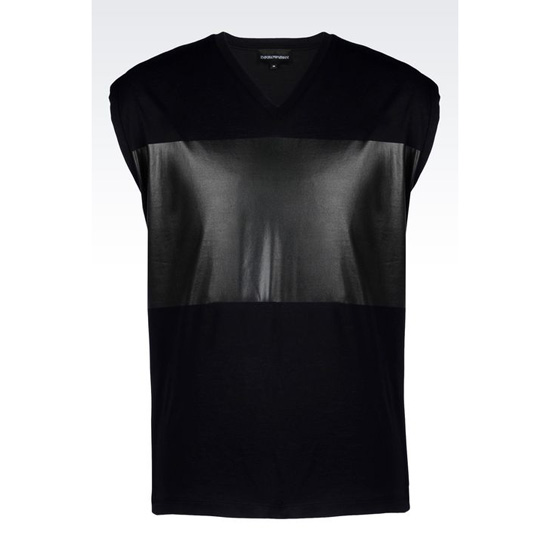 ARMANI RUNWAY T-SHIRT IN JERSEY Outlet Online