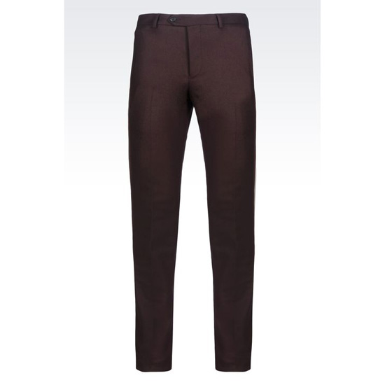ARMANI TROUSERS IN LIGHT BROADCLOTH Outlet Online