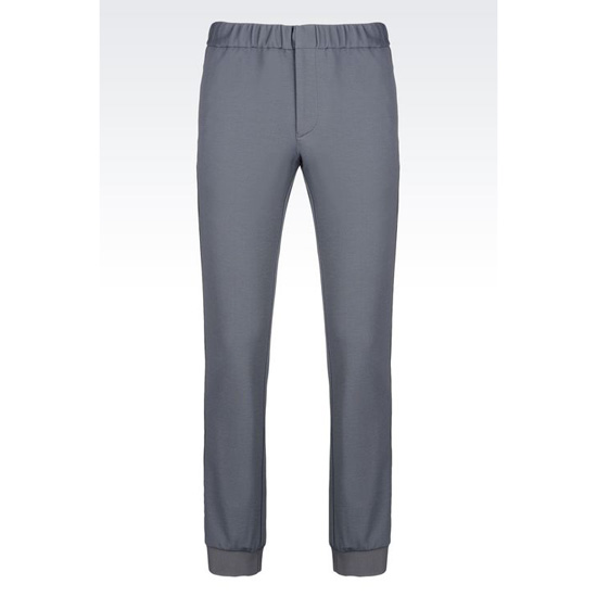 ARMANI RUNWAY TROUSERS IN JERSEY Outlet Online
